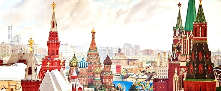 the Architecture of Moscow in Russia