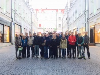 Visit of students from Technical University of Dresden