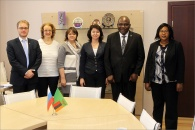 Visit of the Ambassador of the Republic of Zambia and the First Secretary, Attache for Education to MGSU (NRU)