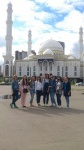 Students of Institute of Construction and Architecture of NRU MGSU visited the Eurasian National University n.a. L. N. Gumilev (Astana)