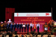 The NRU MGSU delegation attended the celebrations of 50-year anniversary of the Hanoi National Construction University.