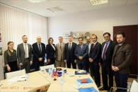 A DELEGATION FROM AFGHANISTAN VISITS NRU MGSU